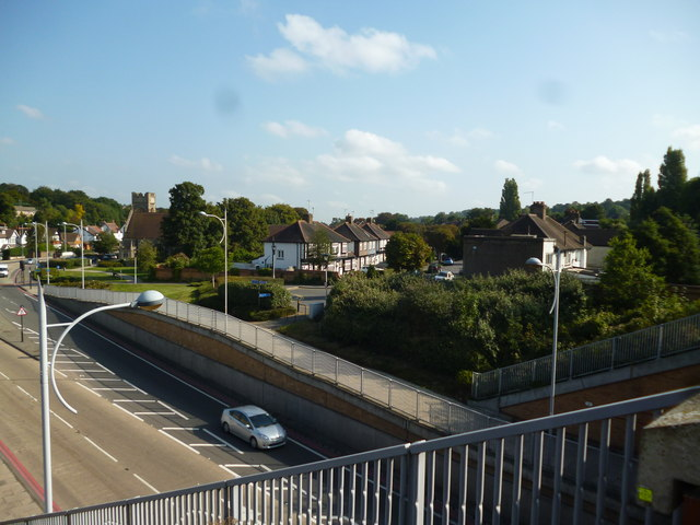 Coulsdon:  View from Coulsdon Town station