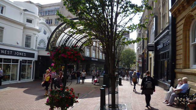 Part of the town centre, Bournemouth