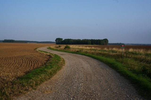 Farm track to the west of Ludborough