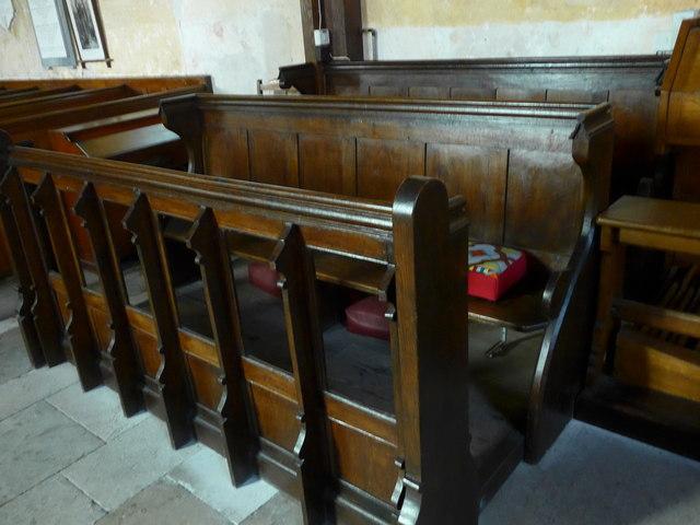 Saint George, Trotton: choir stalls