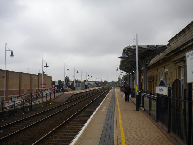Station platforms, Mansfield
