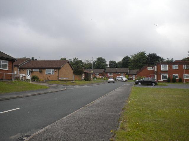 Thornton Close, Oak Tree estate
