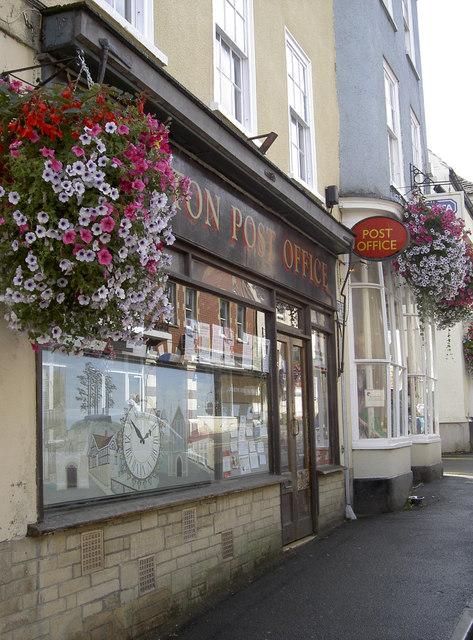 Post office in bloom