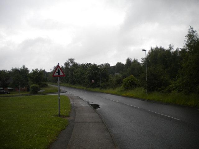 Jubilee Way South, Oak Tree estate