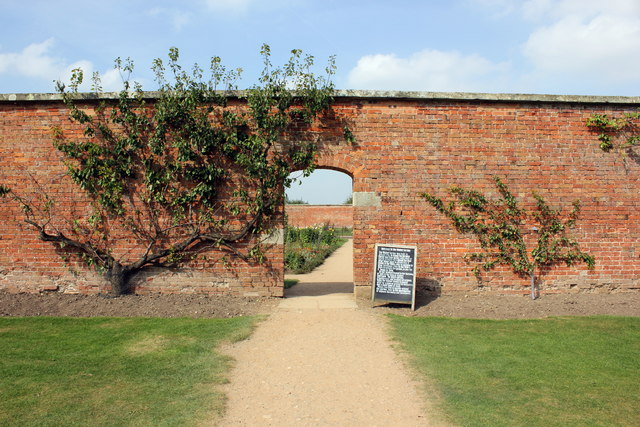 Entrance to the Walled Garden at Attingham Park