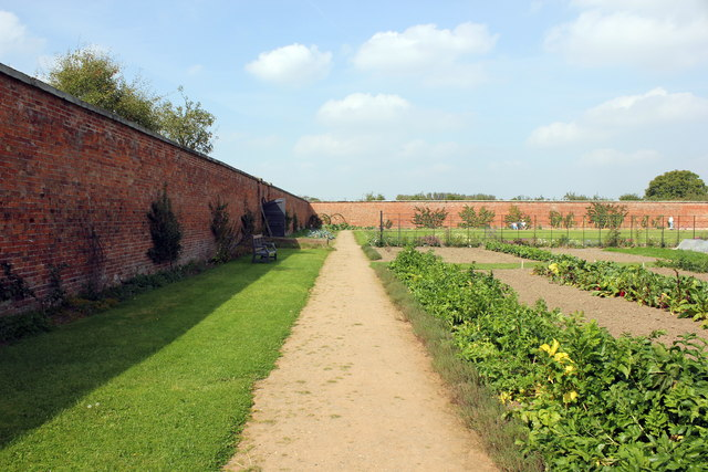 The Walled Garden at Attingham Park