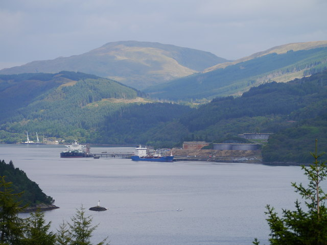 A View Across Loch Long