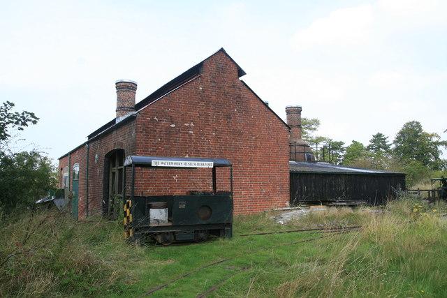 Twyford Waterworks - lime kilns