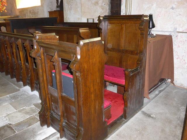 Saint George, Trotton: prayer desk
