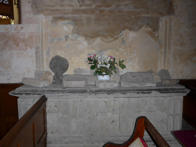 Inside Saint George, Trotton (A)