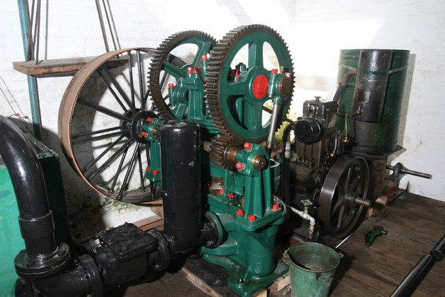 Twyford Waterworks - engine and pump