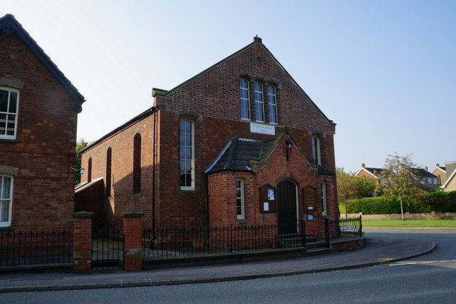 The former Wesleyan Chapel, North Thoresby