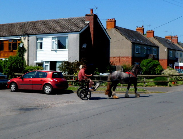 One horsepower vehicle in Saul