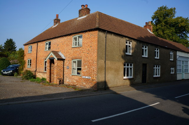 House on Club Lane, North Thoresby