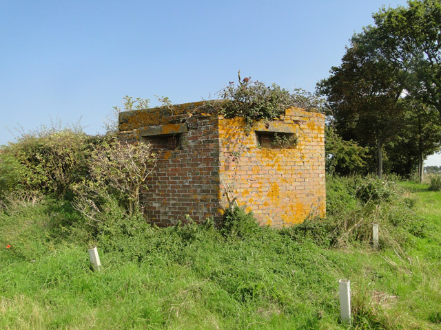 Air Ministry type pillbox at Docking airfield