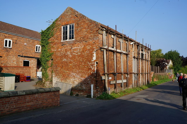 Building on Church Lane, North Thoresby