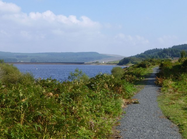Path beside Kielder Water
