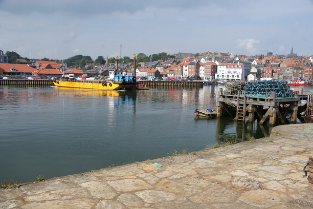 Jetties in Whitby