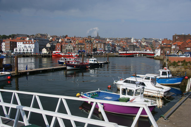 The River Esk at Whitby
