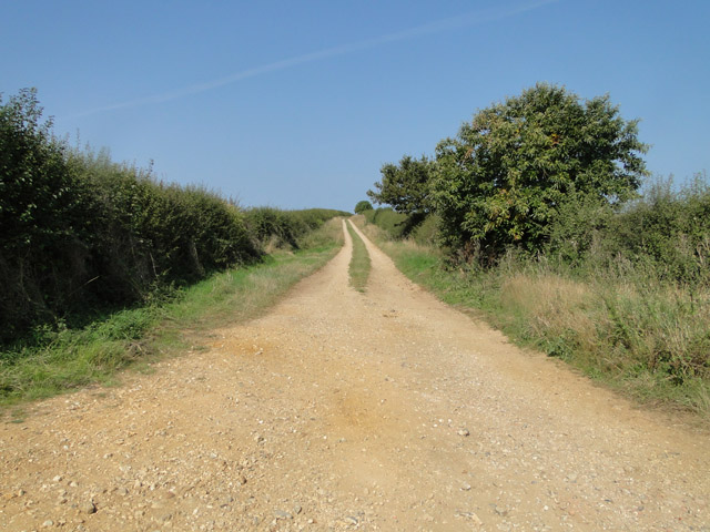 Dirt track to Burnham Deepdale