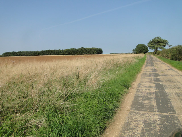 Part of Docking airfield perimeter track