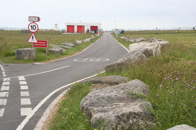 MoD Access Road