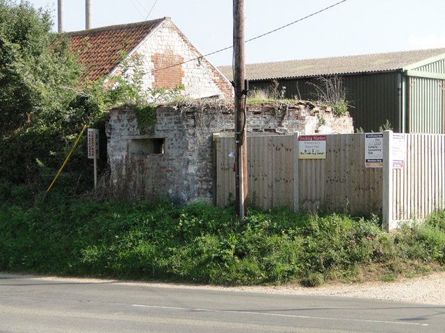 Pillbox on the crossroads at Burnham Westgate