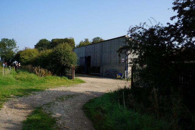 Buildings near Glebe Farm