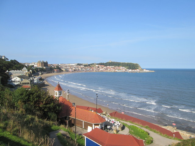Scarborough  South  Bay  from  South  Cliff  Gardens