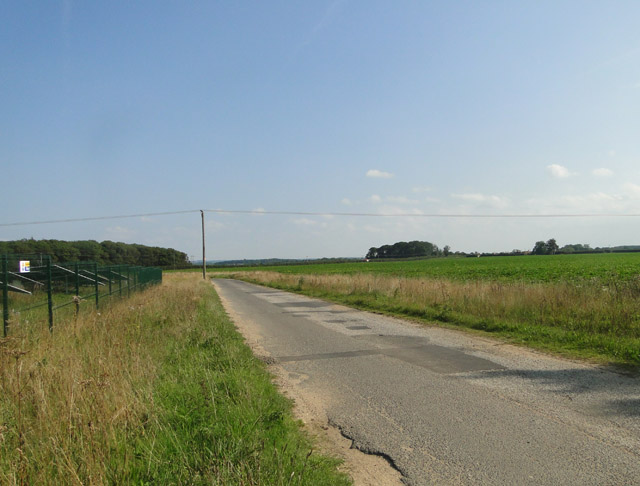 Old roadway on what was North Creake airfield
