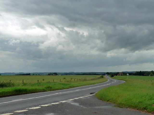 Dalby Road near Great Dalby