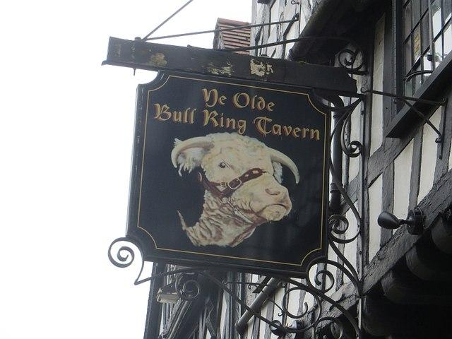 Bull Ring Tavern sign