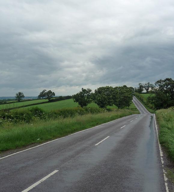 Thorpe Satchville Road near Thorpe Satchville