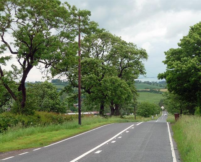 Thimble Hall Road near Twyford