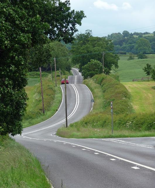Melton Road near Lowesby