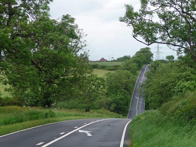 Melton Road near Tilton on the Hill