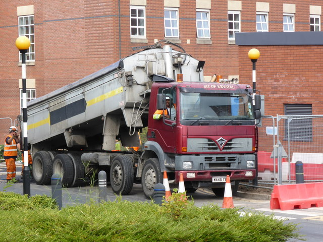 Worcestershire Royal Hospital - tarmac delivery