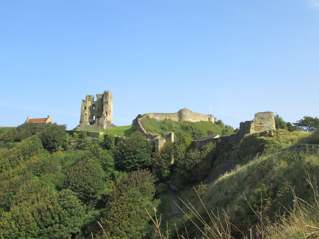 Scarborough  Castle  in  the  sunshine