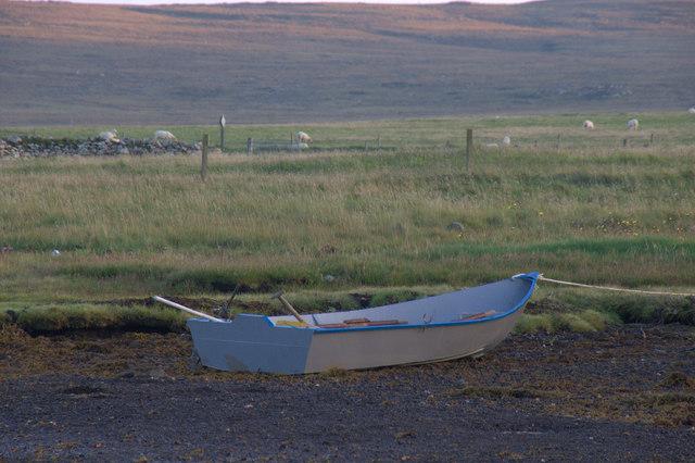 Archie's boat, Clingera, Baltasound