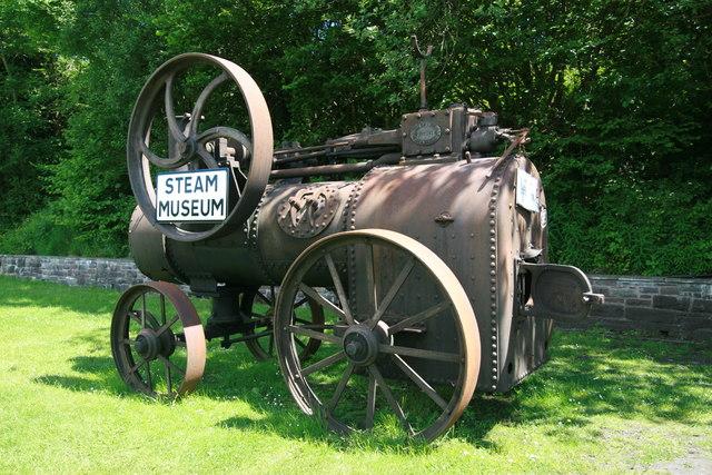 Portable steam engine - Brecon Mountain Railway, Pontsticill