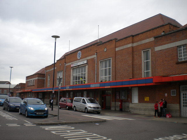 Railway station frontage, Doncaster