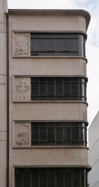 Festival of Britain motifs, 219 Oxford Street