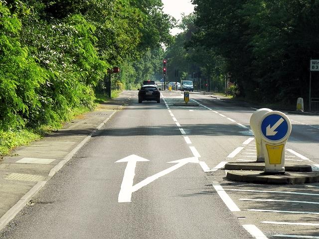 A30 near Windlesham