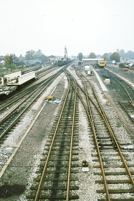 Oxford south goods yard in its final days
