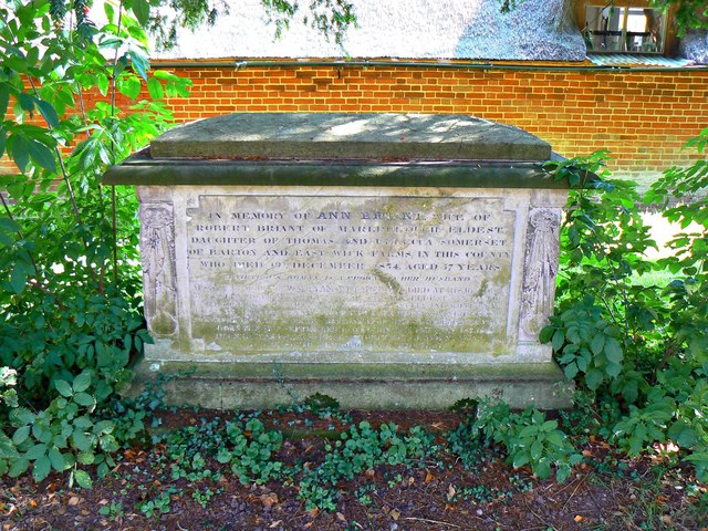 Table tomb, St Andrew's Church, Wootton Rivers, Wiltshire