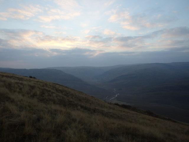 Early Morning banc Llechwedd mawr