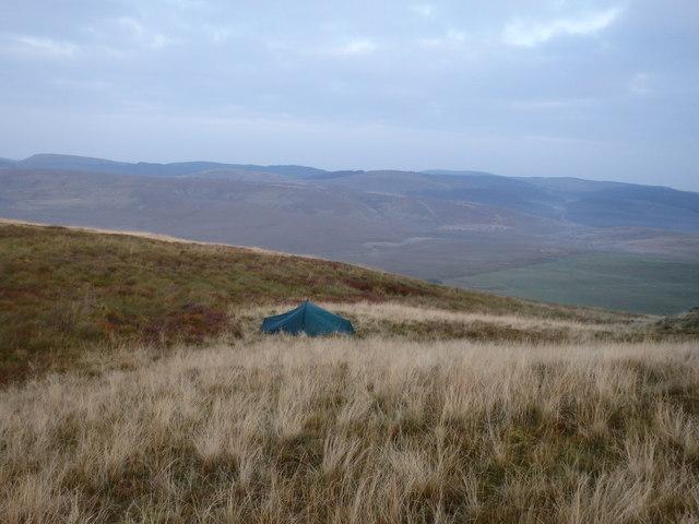 Tent, Banc Llechwedd mawr