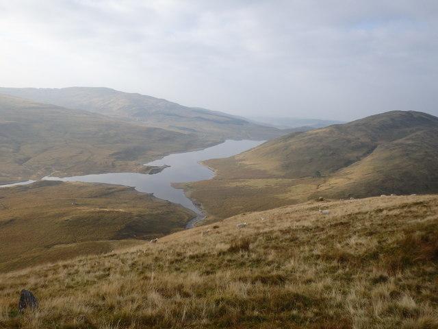 Descending Banc Llechwedd mawr