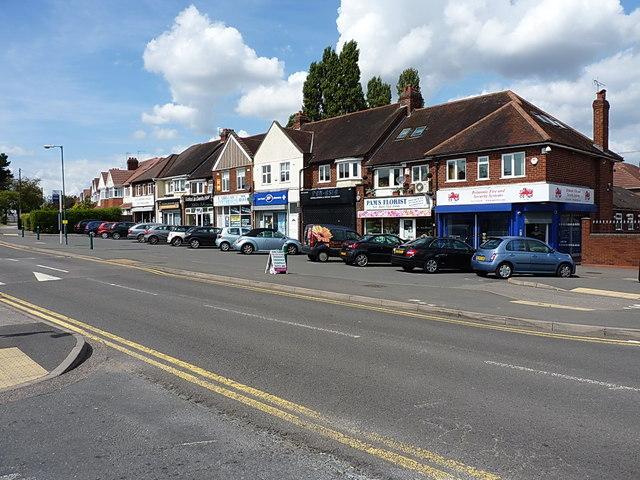 Shops on Lyndon Road