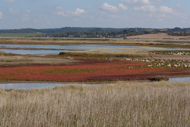 View to Salthouse over Arnold's Marsh